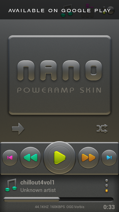 NANO Next Launcher 3D Theme Screenshot 7