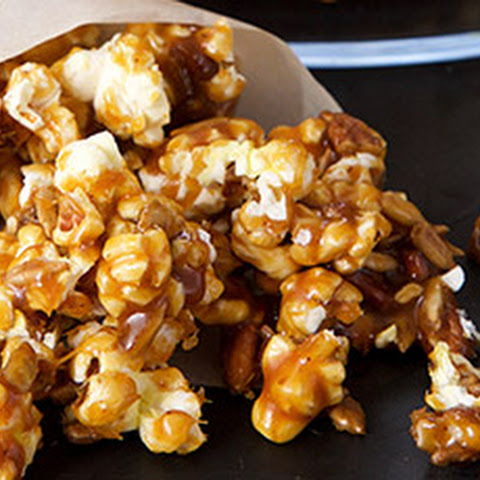 Maple-Chipotle Popcorn