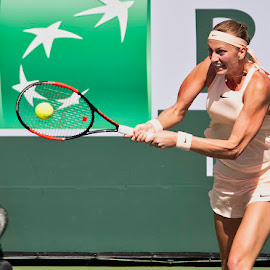 Petra Kovitava - BNP 2018 by Jeffrey Hechter - Sports & Fitness Tennis
