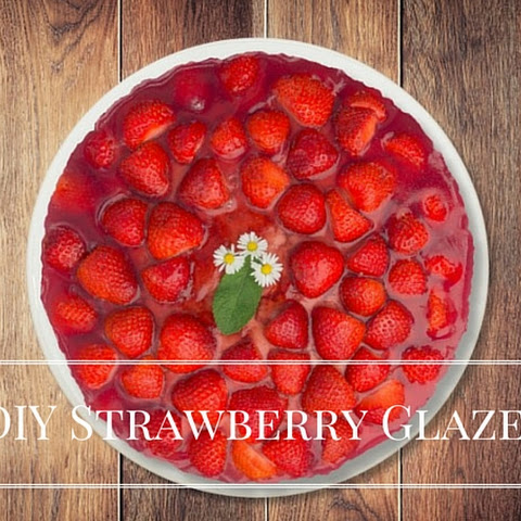 DIY Strawberry Glaze