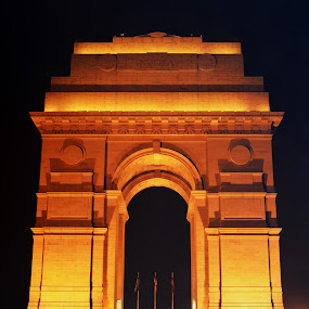 India Gate by Dibyendu Banik - Novices Only Objects & Still Life ( gate )