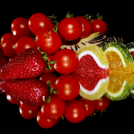 fruits,vegetables and candys by LADOCKi Elvira - Food & Drink Fruits & Vegetables ( candys, fruits )