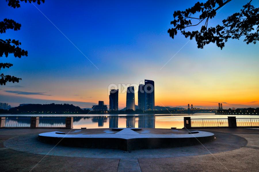 Dry Anchor by Azri Suratmin - Travel Locations Landmarks ( putrajaya, azri, malaysia, sunrise, azrisuratmin, pullman, anchor )