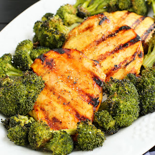 5-Ingredient Honey Mustard Grilled Chicken Breasts
