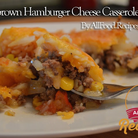 Hashbrown Hamburger Cheese Casserole