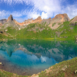 Alpine Blues by Ken Smith - Landscapes Mountains & Hills ( mountains, colorado, landscape, ice lakes )