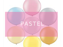 Pastel Balloons | Helium Balloons UK | Top Balloon UK