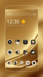 Gold Silk Luxury deluxe Theme APK