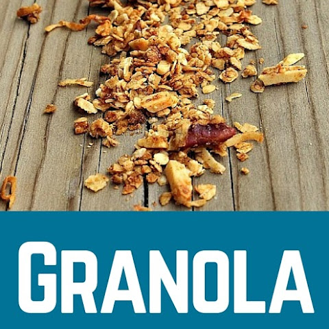 Homemade Granola Recipe with Pecans and Almonds