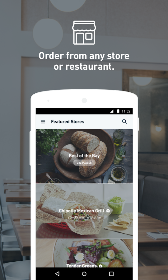 Postmates: Food Delivery, Fast Screenshot 1