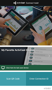 ActivCast Sender - screenshot