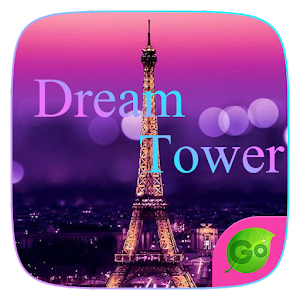 Dream Tower GO Keyboard Theme for PC-Windows 7,8,10 and Mac