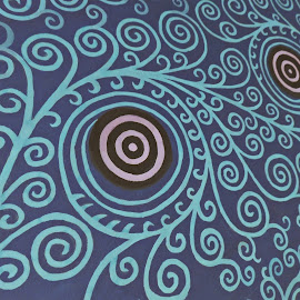 Pattern by Monica Mihaela Pop - Abstract Patterns ( abstract, pattern, circle, wall )