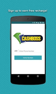 Free Mobile Recharge CashBoss APK for Ubuntu