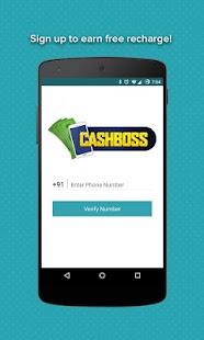 Free Mobile Recharge CashBoss APK for Ubuntu