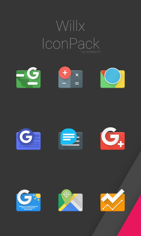 Willx Icon Pack Screenshot 0