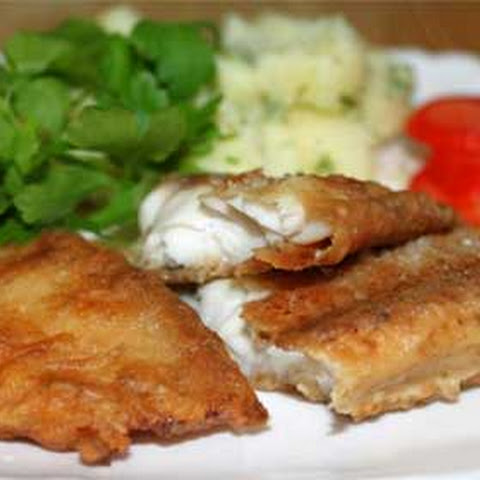 Soy Pan-Fried Tilapia with Tzatziki