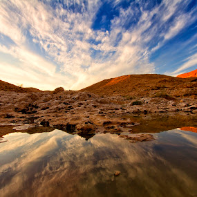 Scottish Heights by Rafael Uy - Landscapes Deserts ( desert, riyadh, waterscapes, scottish heights, saudi arabia )