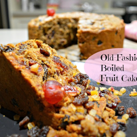 Old Fashioned Boiled Fruitcake