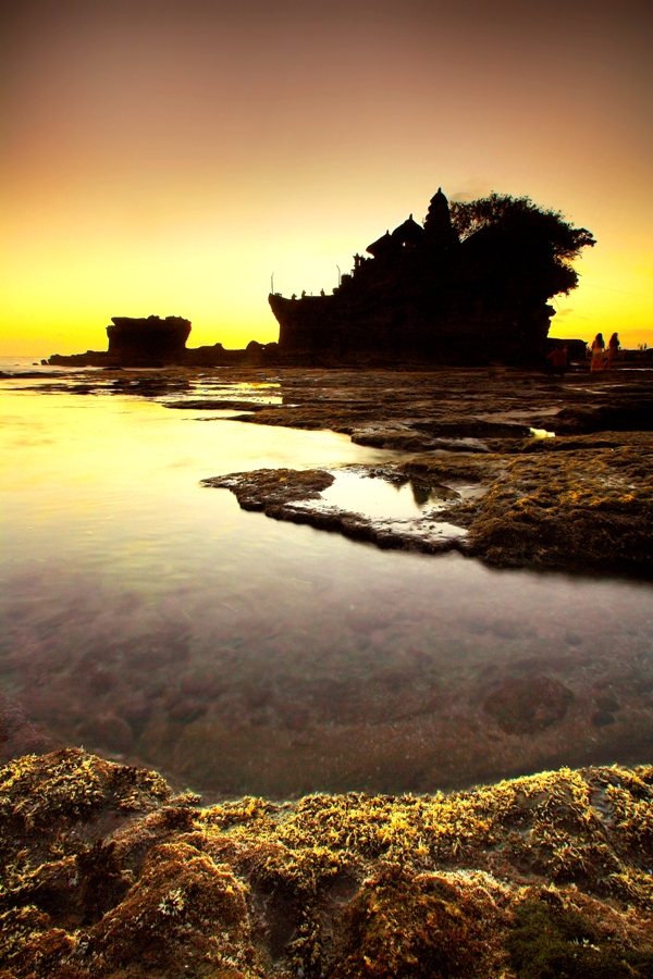 The Tanah Lot by Aris Winahyu BR - Landscapes Waterscapes ( waterscape, sunset, beach )