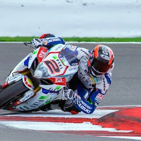 Elbow down by Kain Dear - Sports & Fitness Motorsports ( lean, bike, corner, elbow, speed, racing, down, fast, angle, knee )