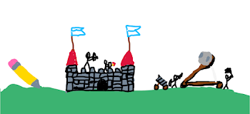 Drawing A Castle