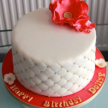 Quilted Birthday Cake