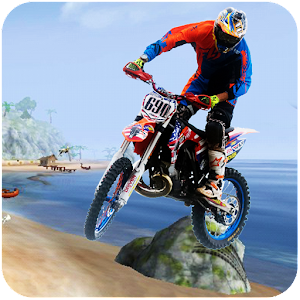 Download Extreme Motocross Beach Jumping 3D (New) For PC Windows and Mac