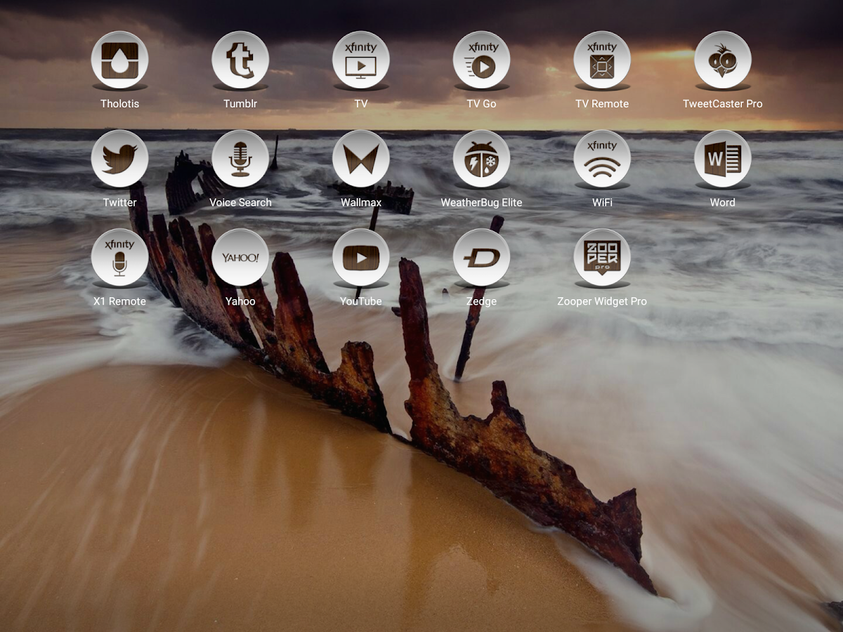 Daf Dark Wood - Icon Pack Screenshot 12