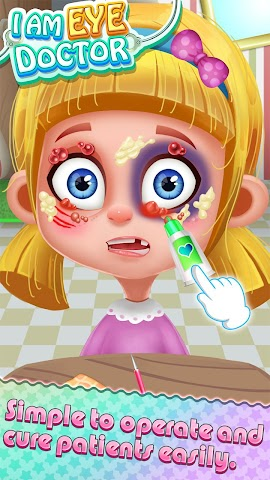 android I am Eye Doctor - Kids Fun Dr Screenshot 3