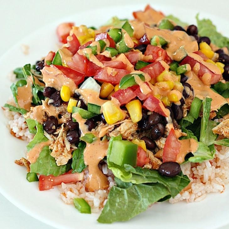 Chicken Burrito Bowls Recipe | Yummly