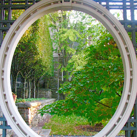 Window to the Garden by Marsha Sices - Buildings & Architecture Other Exteriors (  )