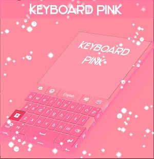 Keyboard Theme Pink Free - screenshot