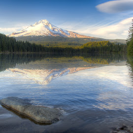 Mt. Hood by Scott Jeffcote - Landscapes Mountains & Hills ( oregon, mt. hood )