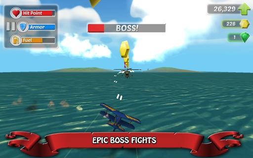 Wings on Fire - Endless Flight screenshot 3