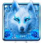 Neon Wolf Keyboard Theme Icon