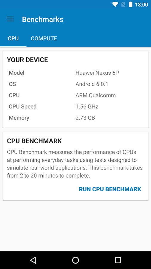Geekbench 4 Screenshot 0