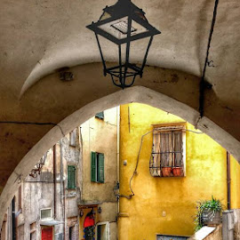 😊😍 #sanremo #lapignadisanremo #oldtown by Inci Ozden - City,  Street & Park  Street Scenes ( #street #sanremo #oldtown #italy )