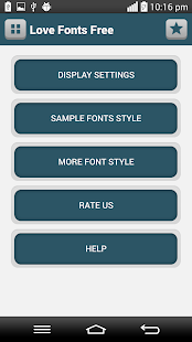 Love Fonts Free - screenshot
