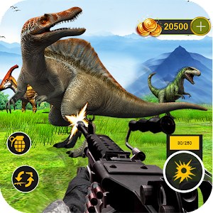 Dinosaurs Hunter Challenge jungle Safari Adventure For PC / Windows 7/8/10 / Mac – Free Download