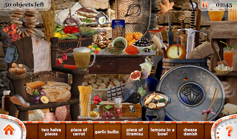 android Hidden Objects Food and Beyond Screenshot 1
