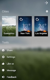 APK App GO Weather Forecast & Widgets for iOS