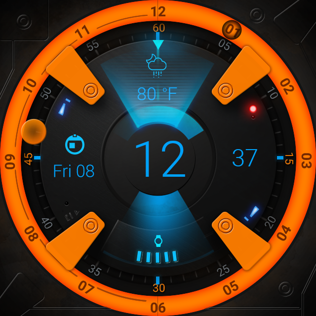BB Droid Watch Face Screenshot 3