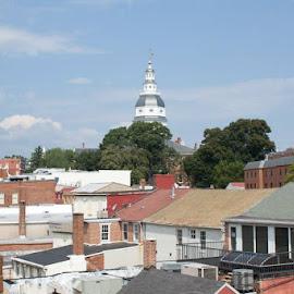 Roof Tops by Veronica Nolen - Buildings & Architecture Public & Historical