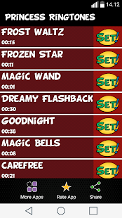 Princess Ringtones - screenshot
