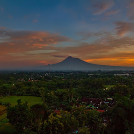 Merapi montain by Prapto Umbilisit - Landscapes Travel