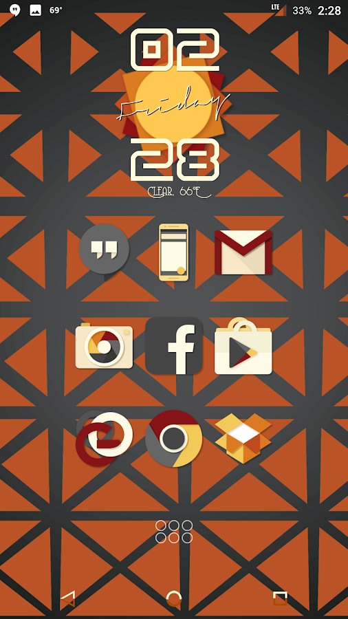 Saturate - Free Icon Pack Screenshot 2