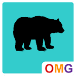 OMG - Silhouette Icon