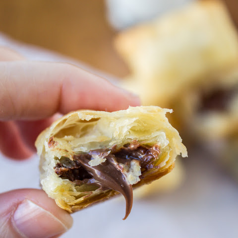 2 Ingredient Nutella Puffs
