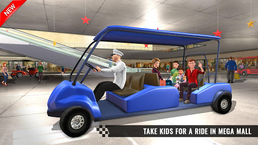 Shopping Mall Smart Taxi: Family Car Taxi Games For PC